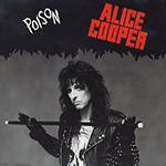 Alice Cooper's Poison single cover